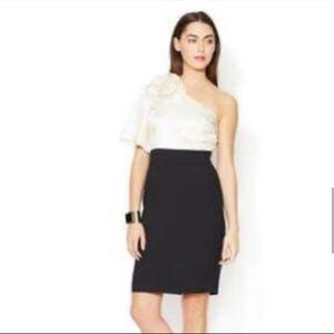 Trina Turk Belle De Nuit One-Shoulder Dress